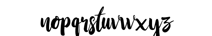 StayWildy Font LOWERCASE