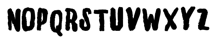 Stayhandbonus Font UPPERCASE