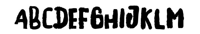 Stayhandbonus Font LOWERCASE