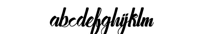 Stayhend Font LOWERCASE