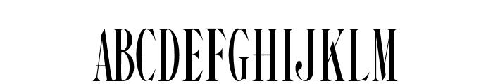 Steadfast-Regular Font UPPERCASE