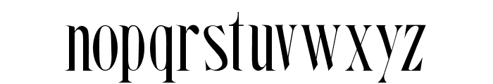 Steadfast-Regular Font LOWERCASE