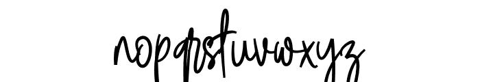 Steam Danglem Font LOWERCASE