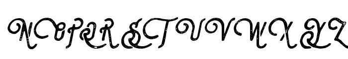 Steelworks Vintage Italic Font UPPERCASE