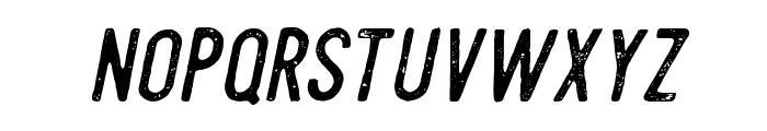Steelworks Vintage Italic Font LOWERCASE
