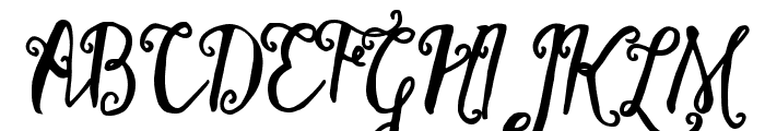 Stellanova Font UPPERCASE