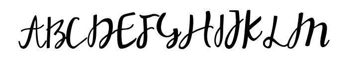 Stephany Font UPPERCASE
