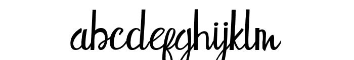 Stephany Font LOWERCASE