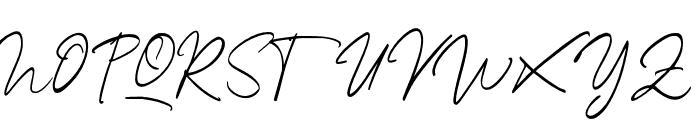 SterlingScript Font UPPERCASE