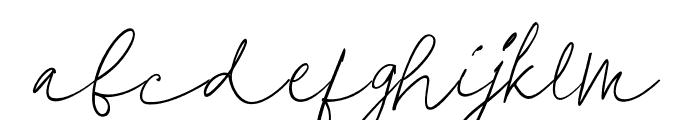 SterlingScript Font LOWERCASE