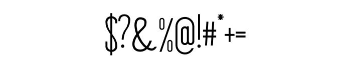 Stickman Clean Fancy Font OTHER CHARS