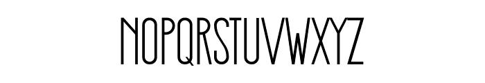 Stickman Clean Fancy Font LOWERCASE