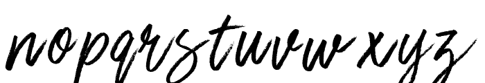 Stone Hearts Font LOWERCASE