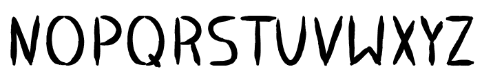 Stoneage Font UPPERCASE