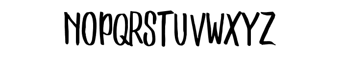 Stonestick Caps Font LOWERCASE