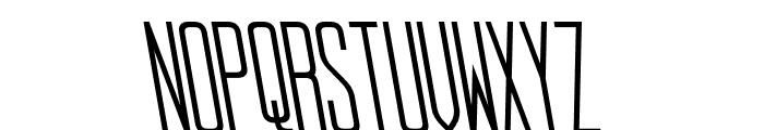 StopSlantSans Monospaced Font LOWERCASE
