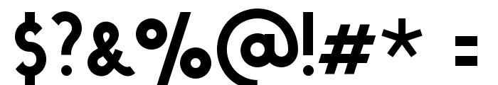 Stout Deco Font OTHER CHARS