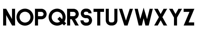 Stout Deco Font UPPERCASE