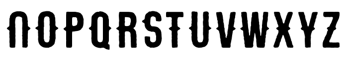 Stout_handly Font LOWERCASE