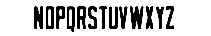 Stout Font LOWERCASE