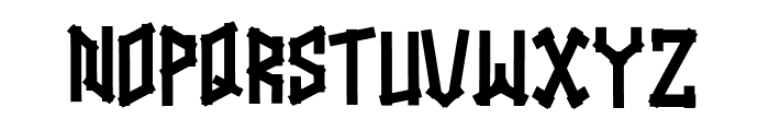 Straightwell Font UPPERCASE