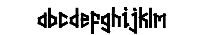 Straightwell Font LOWERCASE