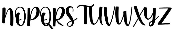 Strawberry Fields Forever Font UPPERCASE