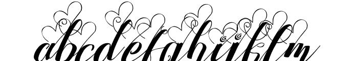 Strawberry Love Mini Font LOWERCASE