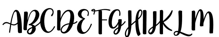 StrawberryFieldsForever Font UPPERCASE