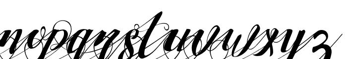 StrawberryLeftSwashes Font LOWERCASE