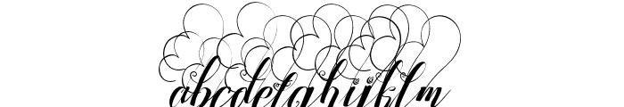 StrawberryLoveBig Font LOWERCASE