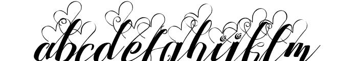 StrawberryLoveMini Font LOWERCASE