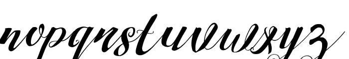 StrawberryMini Font LOWERCASE
