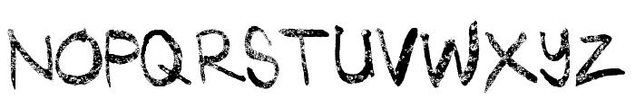 Struggle Line  Regular Font UPPERCASE