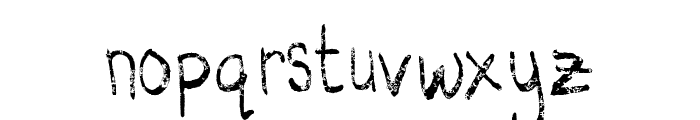 Struggle Line  Regular Font LOWERCASE