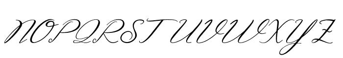 Struggle Font UPPERCASE