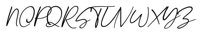 Stthomas Script Regular Font UPPERCASE