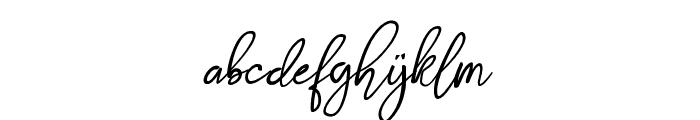 Stthomas Script Regular Font LOWERCASE