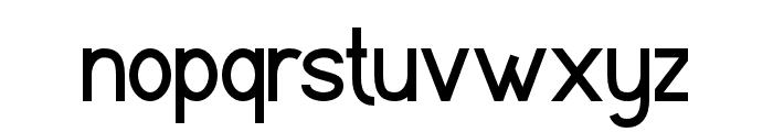 Stugatt Font LOWERCASE