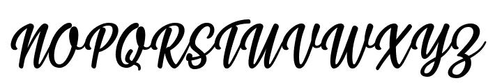 Styla Italic Font UPPERCASE