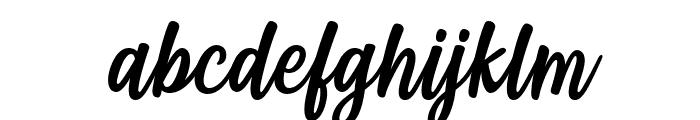 Styla Italic Font LOWERCASE