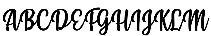 Styla Font UPPERCASE