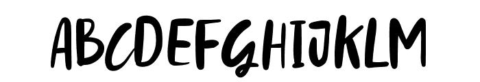 StylledaBrush Font UPPERCASE