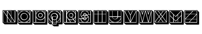 Success 3D Filled Regular Font LOWERCASE
