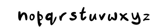 Suech Font LOWERCASE