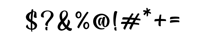 Sugar Charm Font OTHER CHARS