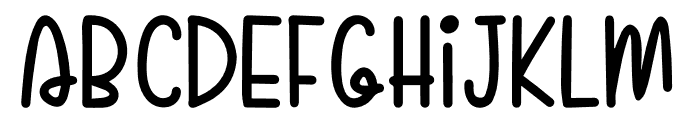 Sugar Poof Font LOWERCASE
