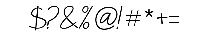 Sulung-Regular Font OTHER CHARS