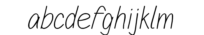 Sulung-Regular Font LOWERCASE