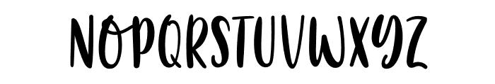 Summer Fantasy Font LOWERCASE